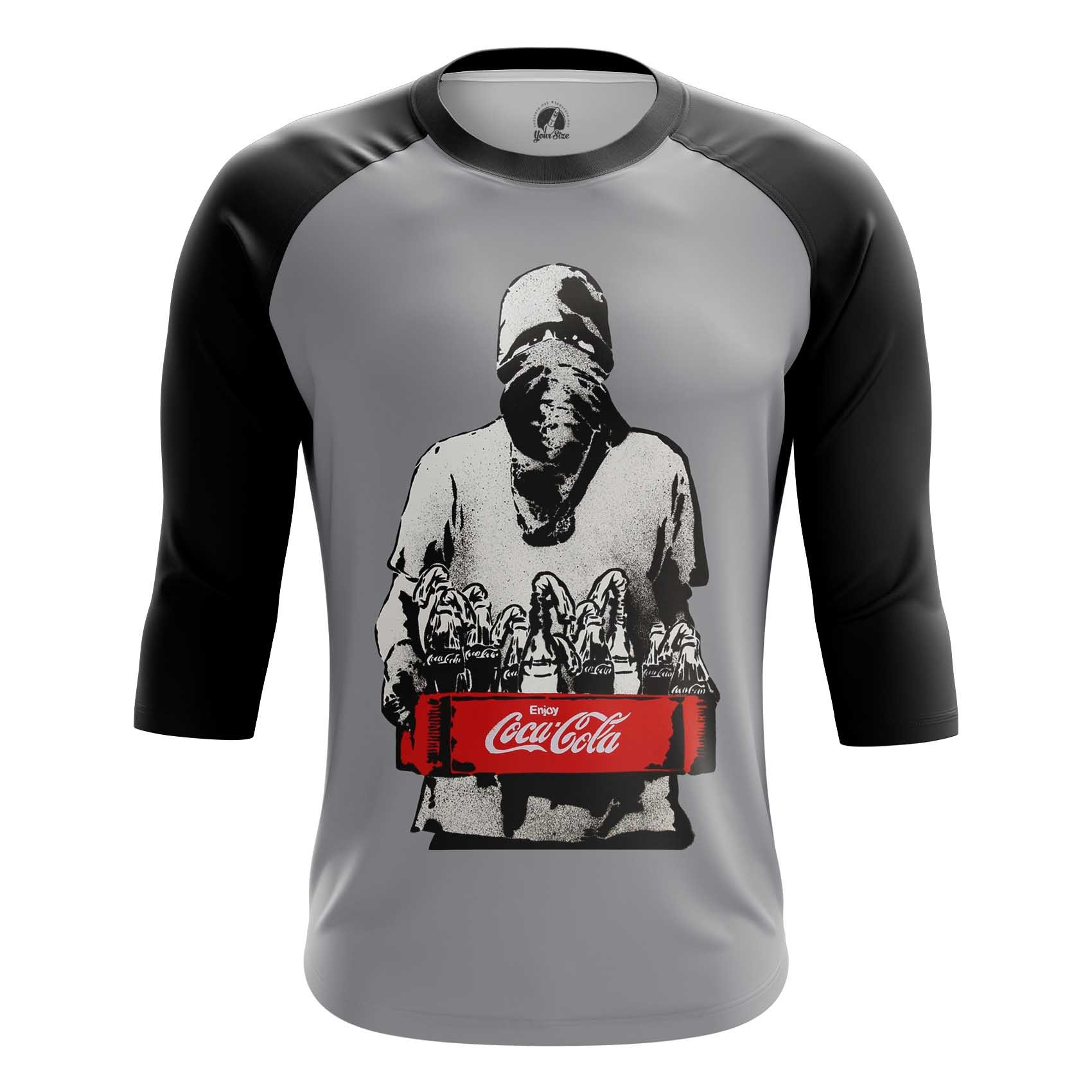 Collectibles Long Sleeve Coca Cola Protest Illustration