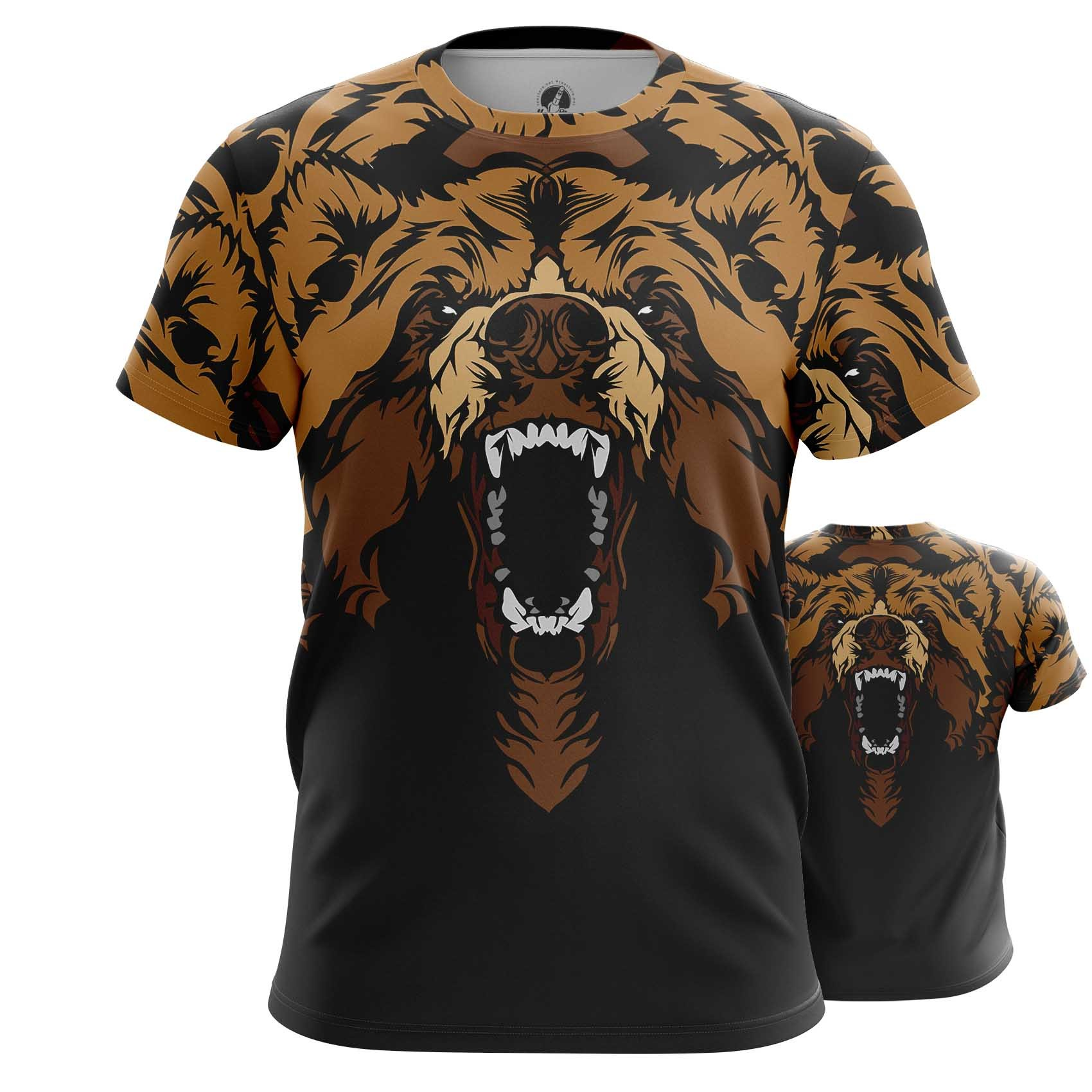 Merchandise Long Sleeve Bear Inspired Full Size Print Art Animals