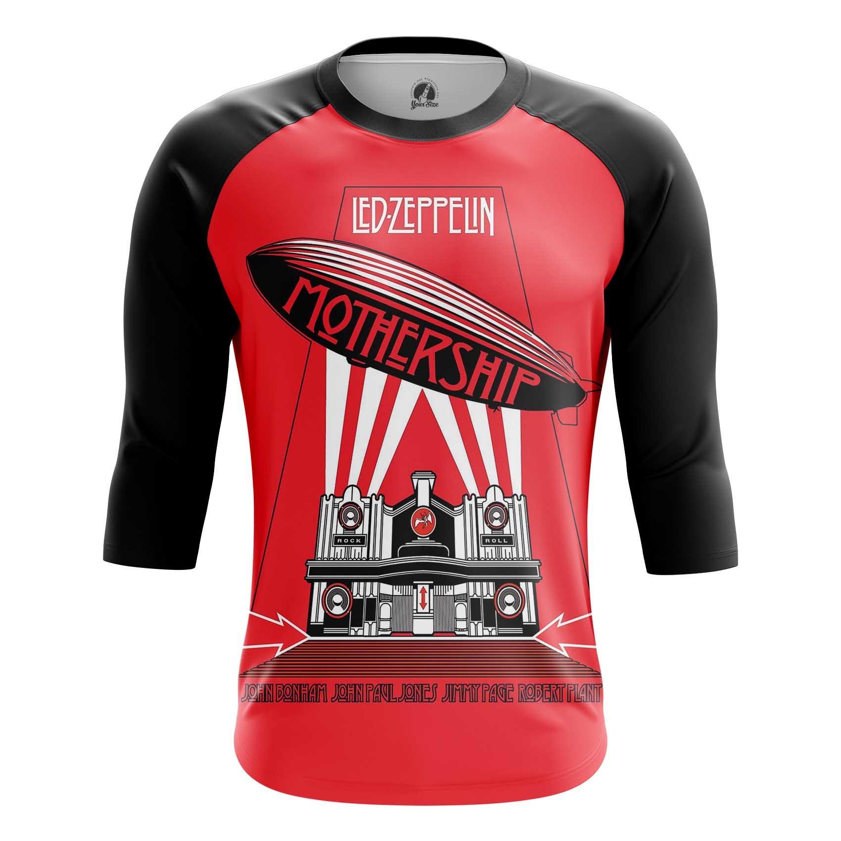 Merchandise Led Zeppelin Men'S T-Shirt Mothership