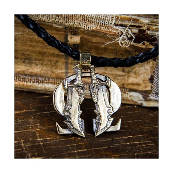 Merchandise God Of War Necklace Blades Handmade
