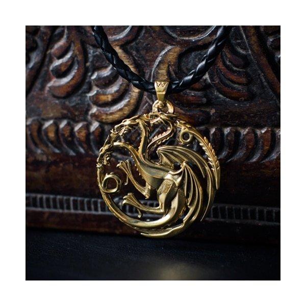 Merch Targaryen Crest Neckalce Dragon Game Of Thrones