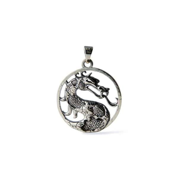 Merchandise Mortal Kombat Logo Necklace Dragon