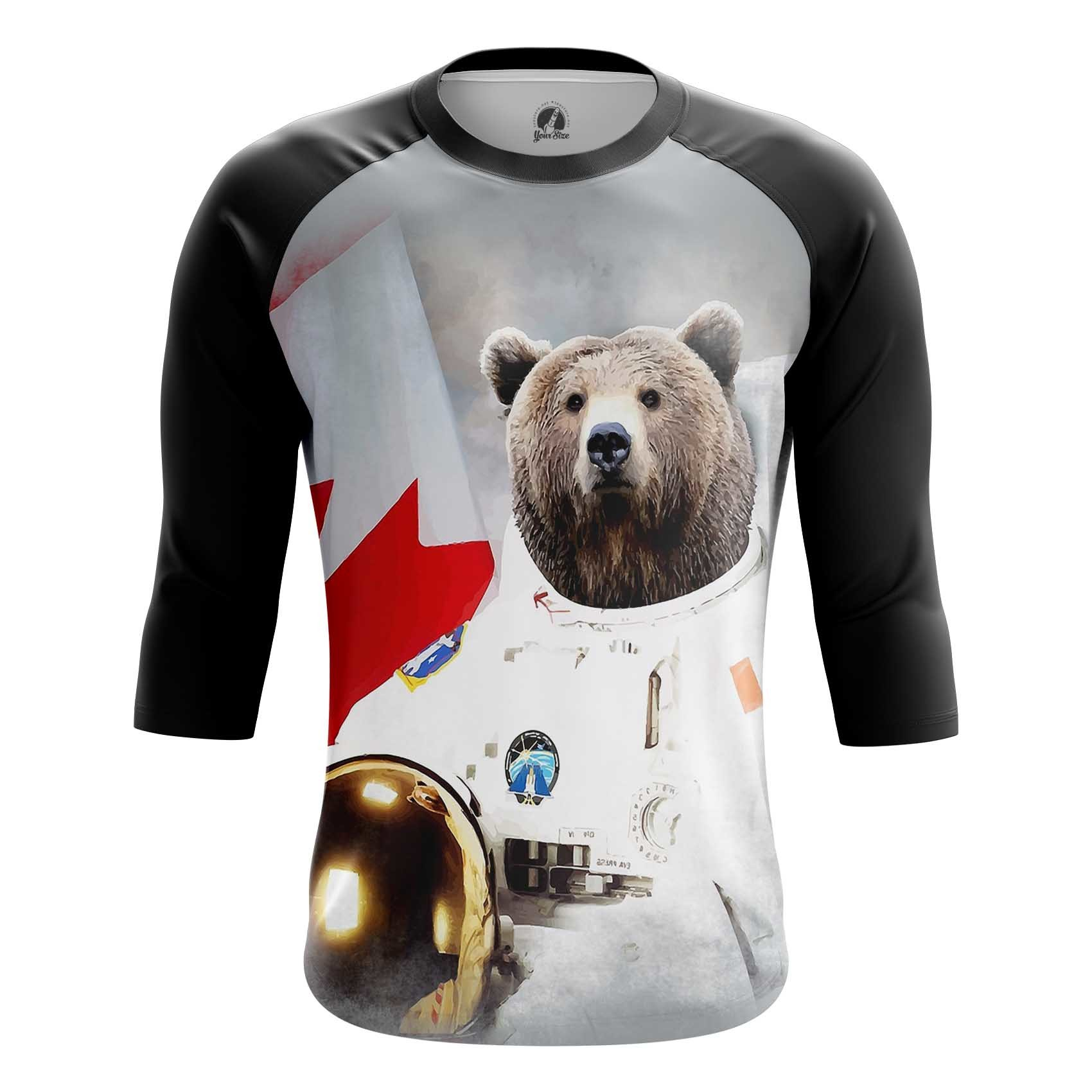Merch Long Sleeve Bear Armstrong Space Bears Joke