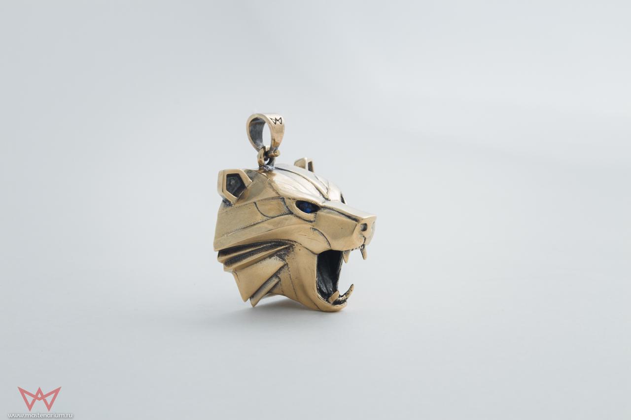 Merchandise Bear School Necklace The Witcher Brass