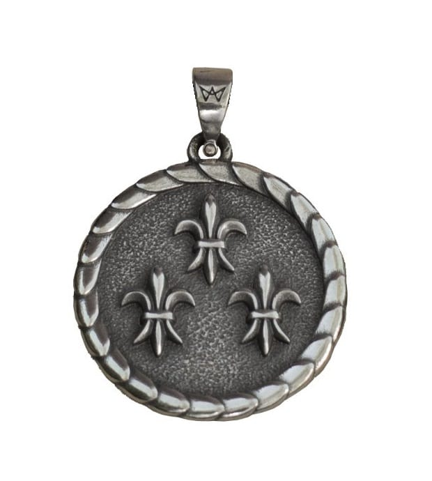 Merch Vernon Necklace The Witcher Silver 925