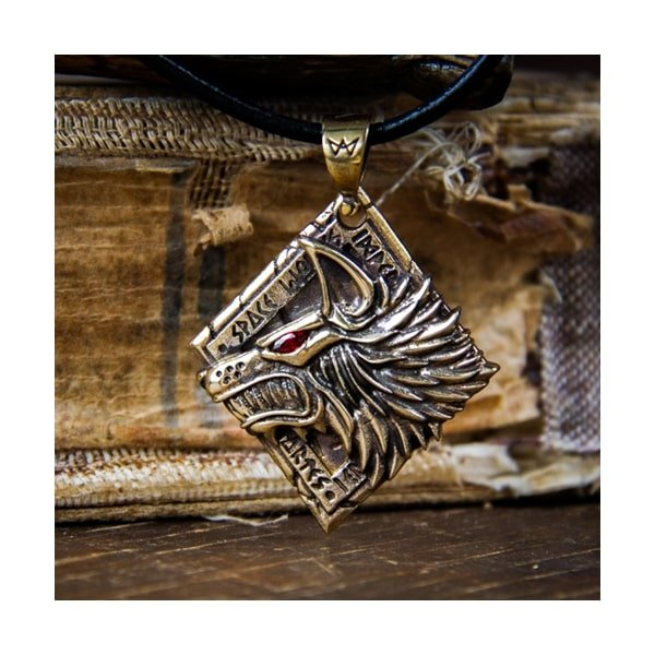 Merchandise Spatium Lupus Necklace Space Wolves 40K