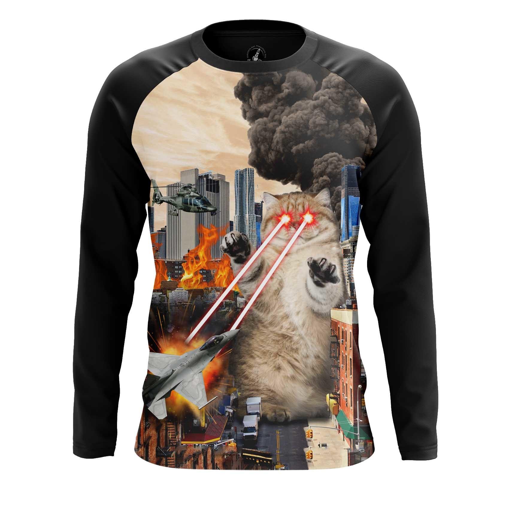 Merchandise Men'S Tank Catastrophe Cat Crash Fun Vest