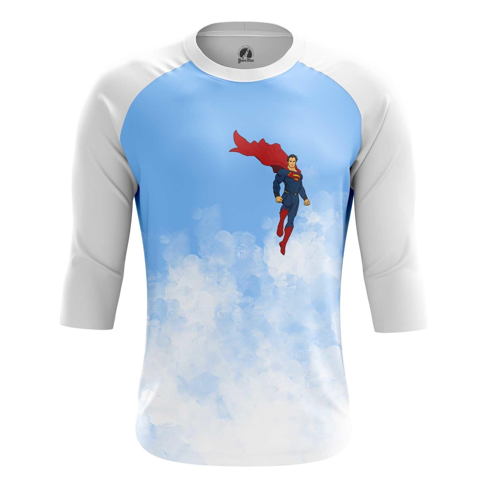 Merch Long Sleeve Superman Clark Kent Dc Art