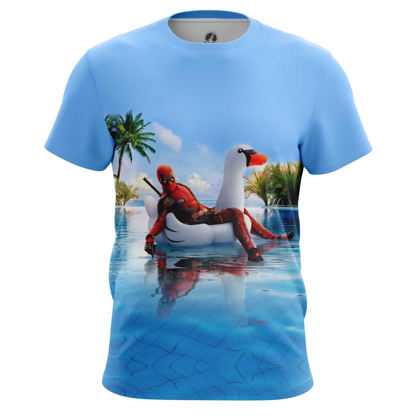 Merchandise T-Shirt Deadpool Literally Meaning Art Humor Marvel
