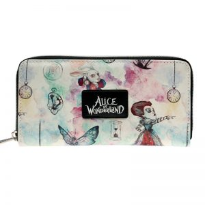 - Alice In Wonderland Zip Around Wallet Fashion Women Wallet Designer Brand Purse Lady Party Wallets Female 6