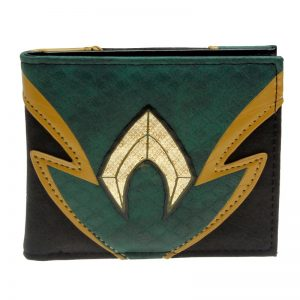 - Aquaman Bifold Men Wallet Women Purse Dft 13007