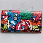- Avengers Wallet Women Long Purse Captain America Wallets Dft 1805