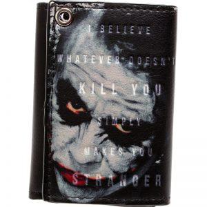 Merchandise Wallet Joker Heath Ledger Batman Dark Knight