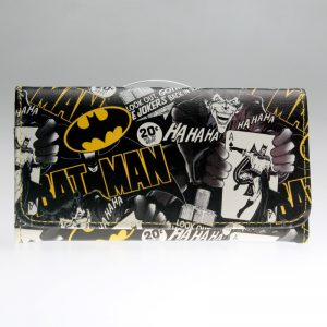 - Batman Wallet Women Blue Long Wallet Pika Purse Dft 1286