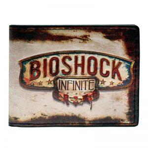- Bioshock Bi Fold Wallet Dft 1616