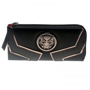 - Black Panther Zip Around Wallet Satchel Clutch Purse Dft 5511