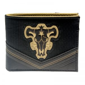 - Black Clover Wallet Bi Fold Purse Dft 3107