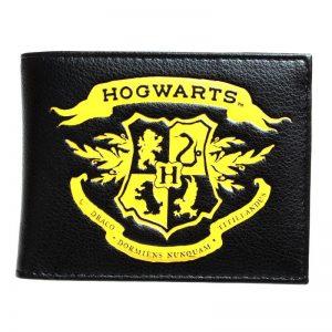 Merchandise Wallet Hogwarts Yellow Logo Harry Potter