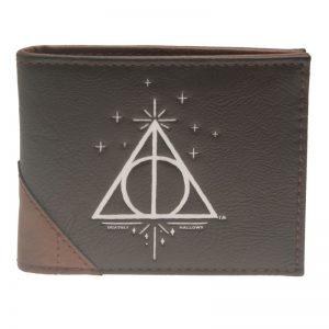 Merchandise Wallet Deathly Hallows Logo Emblem Harry Potter