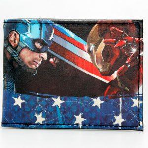 Merchandise Wallet Captain America Iron Man Ciwil War