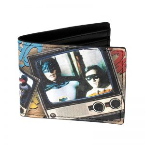- Comic Book Panels Bi Fold Wallet Dft 1507