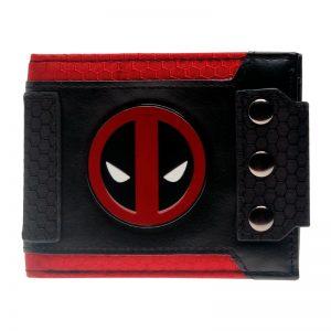 Merch Wallet Deadpool Logo Badge Red Costume Emblem