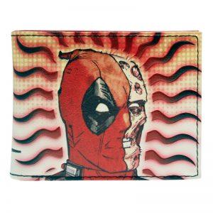 Merch Wallet Deadpool No Maks Half Face