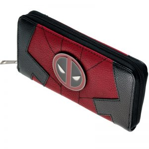 - Deadpool Juniors Suit Up Zip Around Wallet Women Purse Dft 1991