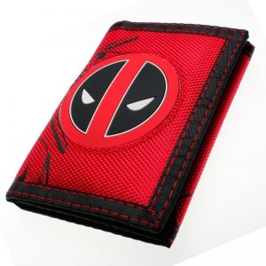 - Deadpool Wallet Trifold Nylon Wallet Dft 7002