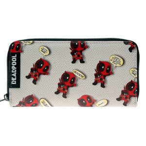 - Deadpool Wallet Pu Long Fashion Women Wallets Designer Brand Purse Lady Party Wallet Female Card Holder