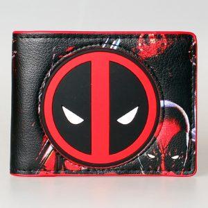 Merch Wallet Deadpool Logo Mask Face