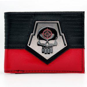 Collectibles Wallet Deadshot Suicide Squad Emblem Badge