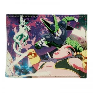 Dragon ball z wallet Young men and women students anime fashion short wallet DFT 2243