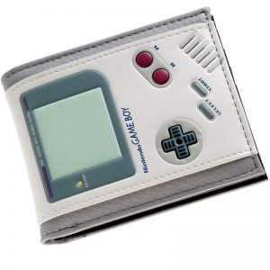 - Game Boy White Bi A Fold Wallet Women Purse Dft 10083