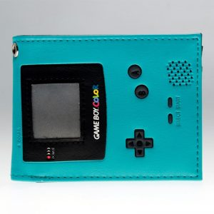 Game Boy white Bi a Fold Wallet Women Purse DFT 2026