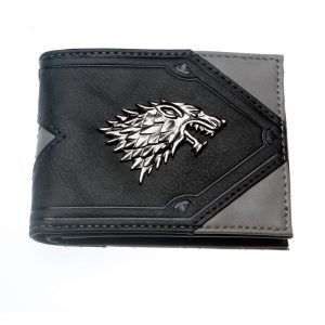 Merchandise Wallet Direwolf Symbol House Stark Game Of Thrones