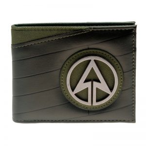 Collectibles Wallet Green Arrow Badge Logo Dcu