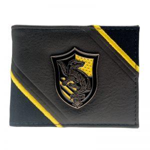 Merchandise Wallet Hufflepuff Badge Harry Potter Witchcraft