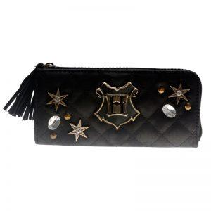 - Hogwarts Quilted Zipper Wallet Women Purse Dft 5517