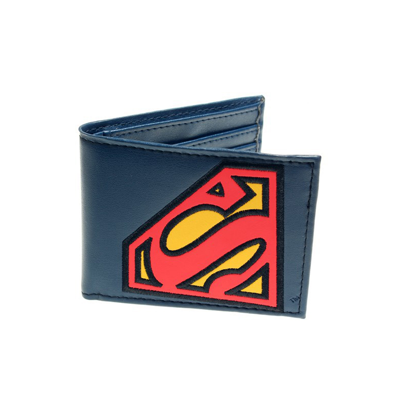 Collectibles Wallet Superman Logo Blue Red Classic