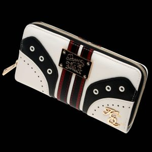 - Harley Quinn Zip Around Wallet Fashion Women Wallets Designer Brand Purse Lady Party Wallet Female