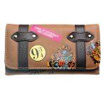 - Hogwarts Castle Crest Envelope Satchel Fold Wallet Purse Dft 8307