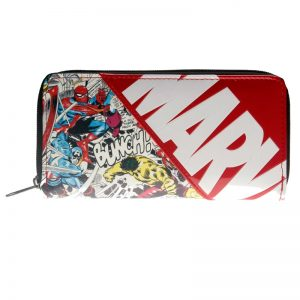 - Marvel Letter Zip Around Wallet Women Purse Dft 1887