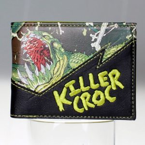 Men women Comics Forever Evil Killer Croc Bifold Wallet DFT 1539