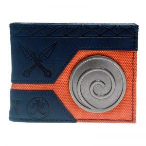 Merch Wallet Naruto Orange Steel Blue Badge