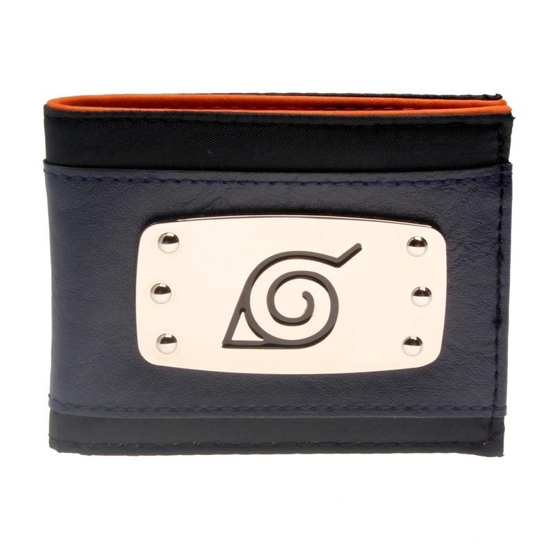 Merch Wallet Naruto Ninja Headband Konoha Village