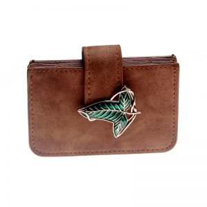 Outlander lord OF THE RINGS Elven leaf Accordion Wallet Card Cardholder DFT 6730