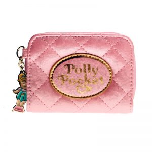 POLLY POCKET PINK QUILTED WALLET WOMEN PURSE DFT 6717