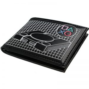 Playstation Console Shaped Bifold PU Wallet DFT 10101