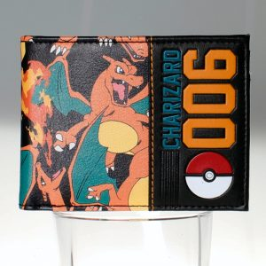 - Pokemon Charizard Wallet Women Purse Dft 1546